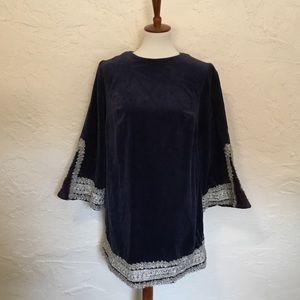 Vintage velvet dress. Approximate medium.